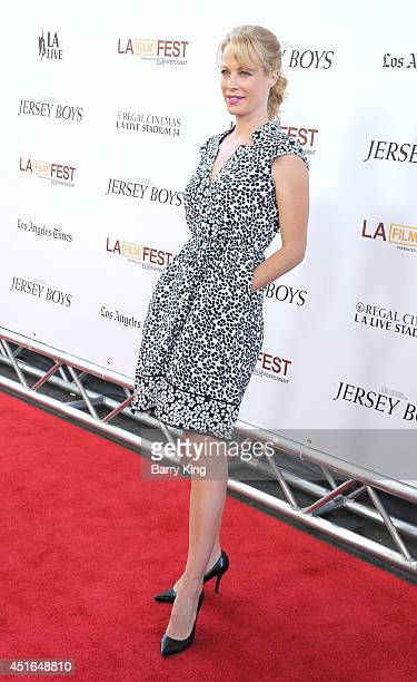 Actress Alison Eastwood attends the 2014 Los Angeles Film Festival closing night premiere of 'Jersey Boys' at Premiere House on June 19 2014 in Los...