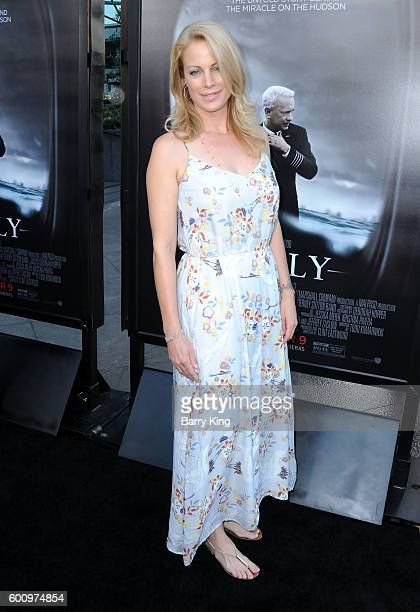 Actress Alison Eastwood attends the Los Angeles industry screening of Warner Bros Pictures' 'Sully' at Directors Guild Of America on September 8 2016...