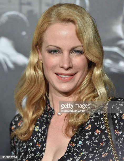 Actress Alison Eastwood attends the premiere of 'The 1517 To Paris' at Warner Bros Studios on February 5 2018 in Burbank California