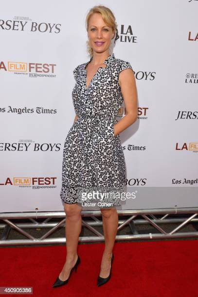 "Actress Alison Eastwood attends the premiere of Warner Bros. Pictures' ""Jersey Boys"" during the 2014 Los Angeles Film Festival at Regal Cinemas L.A...."