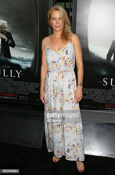 Actress Alison Eastwood attends the screening of Warner Bros Pictures' 'Sully' on September 8 2016 in Los Angeles California