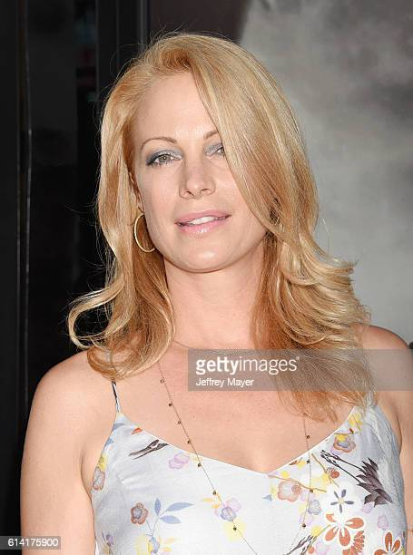 Actress Alison Eastwood attends the screening of Warner Bros Pictures' 'Sully' at the Director's Guild of America on September 8 2016 in Los Angeles...