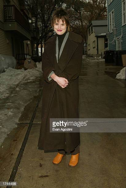 Actress Alison Folland at the 'Milwaukee Minnesota' cast photo sessionduring the Sundance Film Festival on January 24 2003 Park City Utah