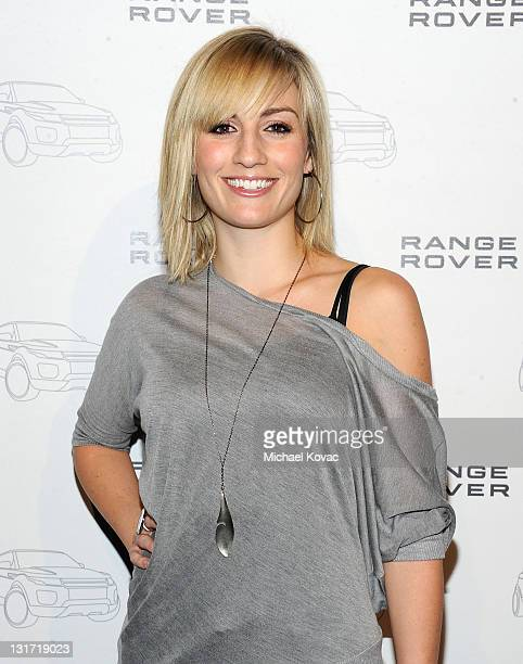 Actress Alison Haislip arrives at the Range Rover Evoque VIP launch party at Cecconi's Restaurant on November 16 2010 in Los Angeles California
