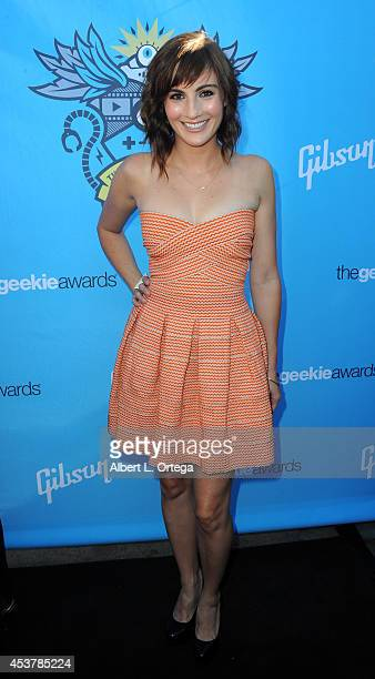 Actress Alison Haislip arrives for The Geekie Awards 2014 held at Avalon on August 17 2014 in Hollywood California