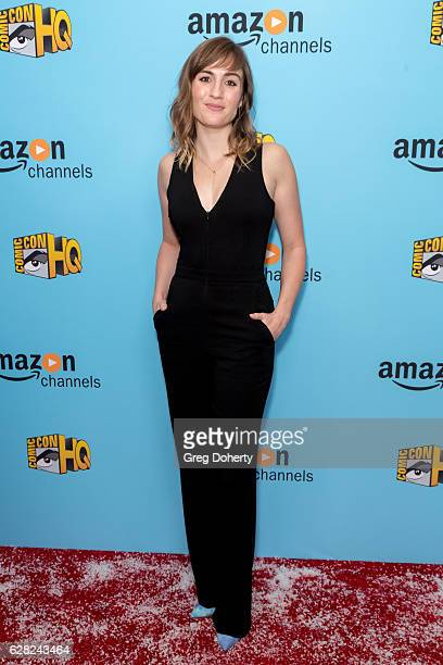 Actress Alison Haislip arrives for the Winter Series Showcase Of ComicCon HQ Premiere Of 'Con Man' Season 2 at The Paley Center for Media on December...