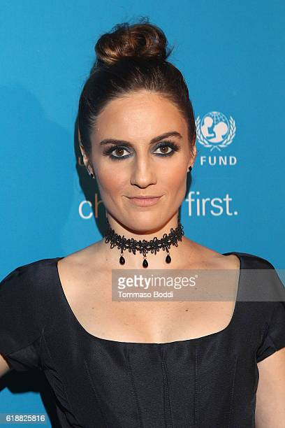 Actress Alison Haislip at the fourth annual UNICEF Next Generation Masquerade Ball on October 27 2016 in Los Angeles California