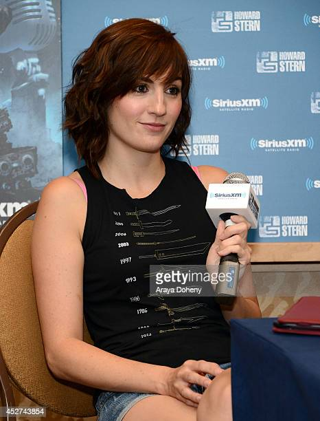 Actress Alison Haislip attends Howard Stern's 'Geektime' Live Broadcast from ComicCon 2014 at Hilton Bayfront on July 26 2014 in San Diego California