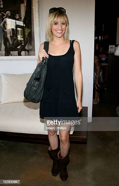Actress Alison Haislip attends the Amica Style Trunk Show With Fake Bake And The Luxe Beauty Team on July 15 2010 in Los Angeles California