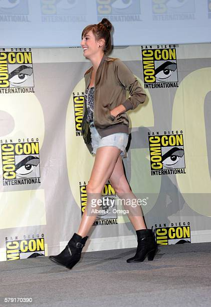 Actress Alison Haislip attends the 'Con Man' panel during ComicCon International 2016 at San Diego Convention Center on July 22 2016 in San Diego...