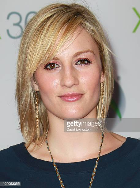 Actress Alison Haislip attends the premiere of Xbox 360's 'Project Natal' at Galen Center on June 13 2010 in Los Angeles California