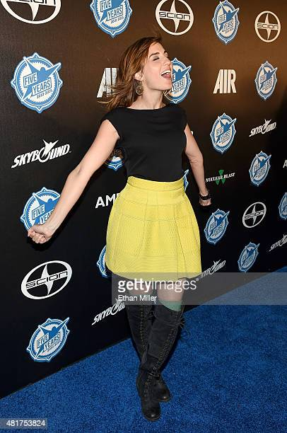Actress Alison Haislip attends the premiere party for Skybound Entertainment's 'AIR' during ComicCon International 2015 at PETCO Park on July 10 2015...