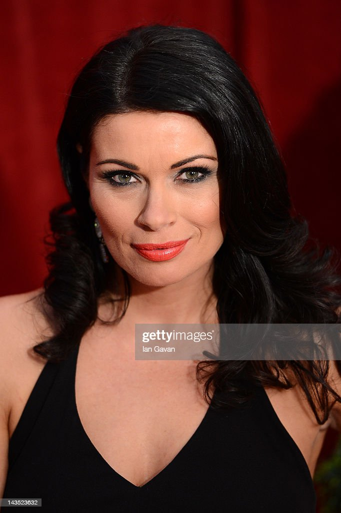Actress Alison King attends The 2012 British Soap Awards at ITV Studios on April 28, 2012 in London, England.