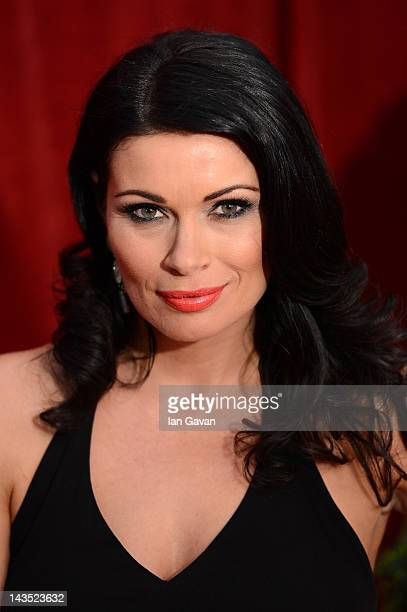 Actress Alison King attends The 2012 British Soap Awards at ITV Studios on April 28 2012 in London England
