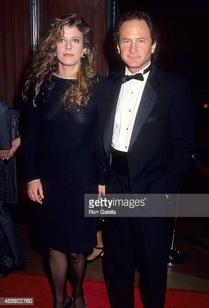 Actress Alison LaPlaca and actor Philip Charles MacKenzie attend the 11th Annual CableACE Awards on January 14 1990 at the Wiltern Theatre in Los...