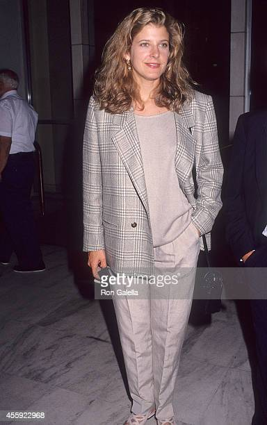 Actress Alison LaPlaca attends the ABC Television Affiliates Party on June 3 1992 at the Century Plaza Hotel in Century City California