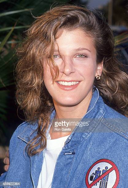 Actress Alison LaPlaca attends the FOX Television Affiliates Party on July 11 1989 at the RitzCarlton Hotel in Marina del Rey California