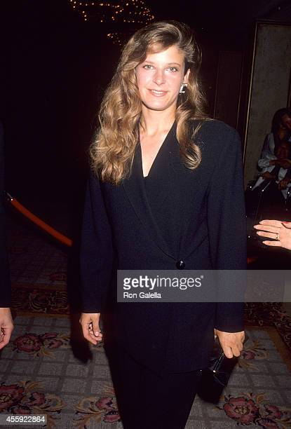Actress Alison LaPlaca attends the Motion Picture Association of Italy's Rudolph Valentino Award Salute to Julio Iglesias Robert Mitchum and Jane...
