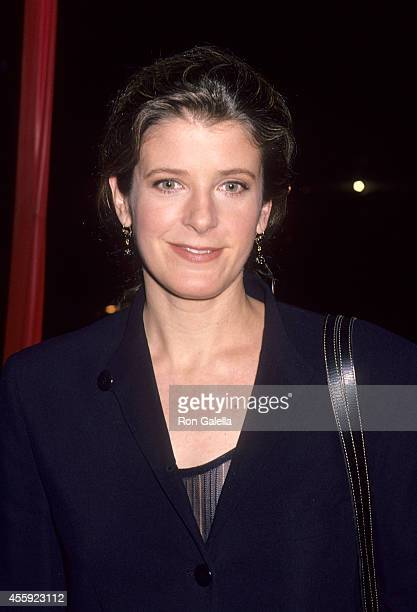 Actress Alison LaPlaca attends the NBC Winter TCA Press Tour on January 9 1995 at the RitzCarlton Hotel in Pasadena California