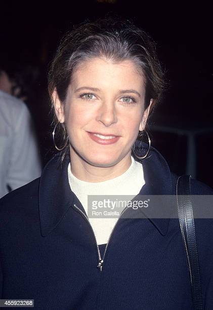 Actress Alison LaPlaca attends the Screening of the NBC Original Movie 'Serving in Silence The Margarethe Cammermeyer Story' on January 23 1995 at...