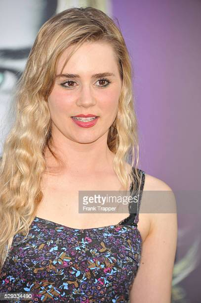 Actress Alison Lohman arrives at the premiere of Dark Shadows held at Grauman's Chinese Theater