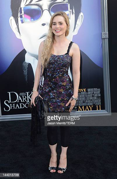 Actress Alison Lohman arrives at the premiere of Warner Bros Pictures' 'Dark Shadows' at Grauman's Chinese Theatre on May 7 2012 in Hollywood...