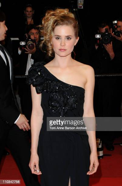 Actress Alison Lohman attends the 'Drag Me to Hell' Premiere at the Grand Theatre Lumiere during the 62nd Annual Cannes Film Festival on May 20 2009...
