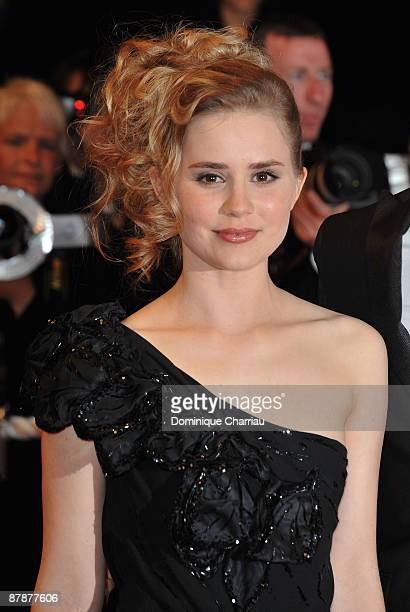 Actress Alison Lohman attends the Drag Me to Hell Premiere at the Grand Theatre Lumiere during the 62nd Annual Cannes Film Festival on May 20 2009 in...