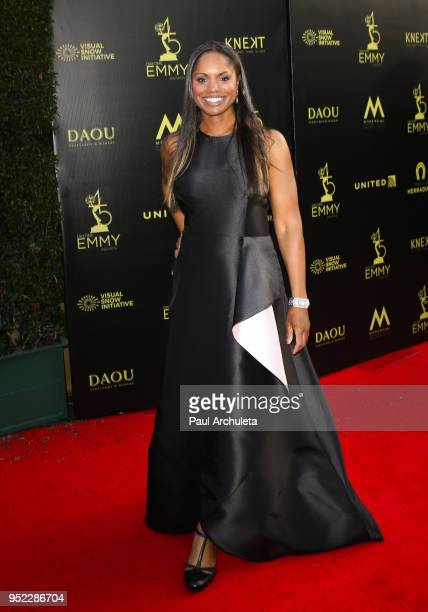 Actress Alison McDonald attends the 45th Annual Daytime Creative Arts Emmy Awards at the Pasadena Civic Auditorium on April 27 2018 in Pasadena...