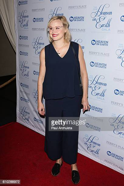 Actress Alison Pill attends the 2016 Heaven On Earth Gala at The Garland on September 24 2016 in North Hollywood California