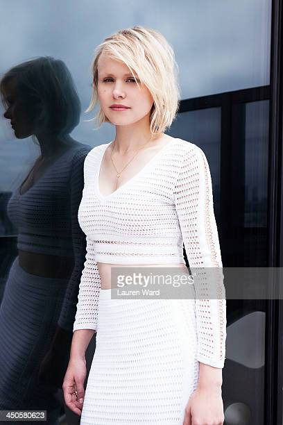 Actress Alison Pill is photographed for Filler Magazine on June 25 2013 in Los Angeles California