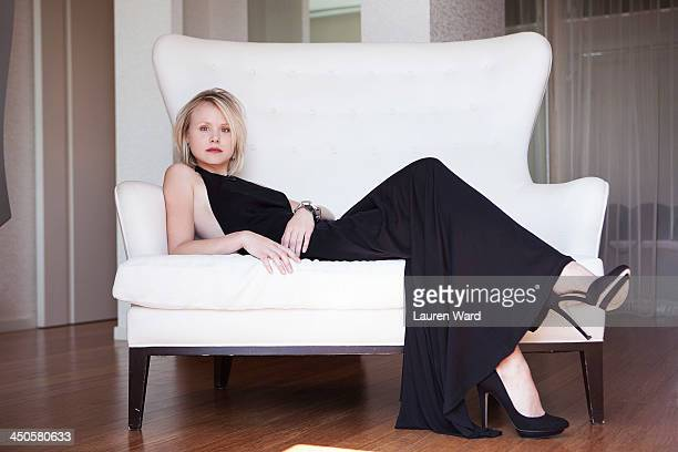 Actress Alison Pill is photographed for Filler Magazine on June 25 2013 in Los Angeles California PUBLISHED IMAGE