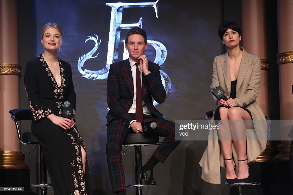 'Fantastic Beasts And Where To Find Them' Beijing Press Conference : News Photo
