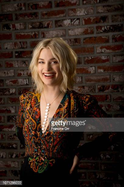 Actress Alison Sudol is photographed for Los Angeles Times on November 3 2018 in West Hollywood California PUBLISHED IMAGE CREDIT MUST READ Francine...