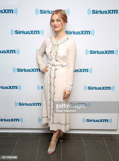 Actress Alison Sudol visits at SiriusXM Studio on November 4 2016 in New York City
