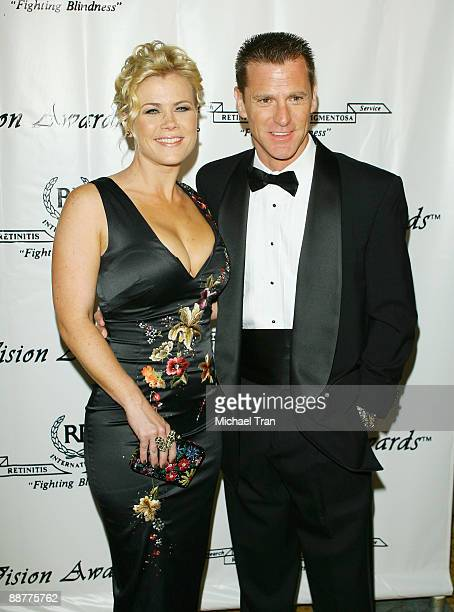 Actress Alison Sweeney and her husband Dave Sanov arrive to the 36th Annual Vision Awards held at The Beverly Wilshire Hotel on June 27 2009 in...