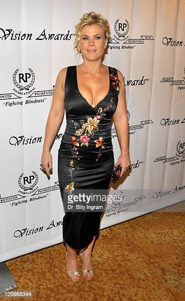 Actress Alison Sweeney arrives at the 36th Annual Vision Awards at The Beverly Wilshire Hotel on June 27 2009 in Los Angeles California