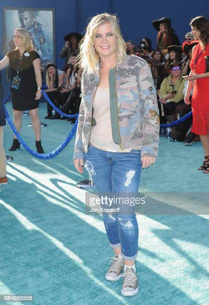 Actress Alison Sweeney arrives at the Los Angeles Premiere 'Pirates Of The Caribbean Dead Men Tell No Tales' at Dolby Theatre on May 18 2017 in...