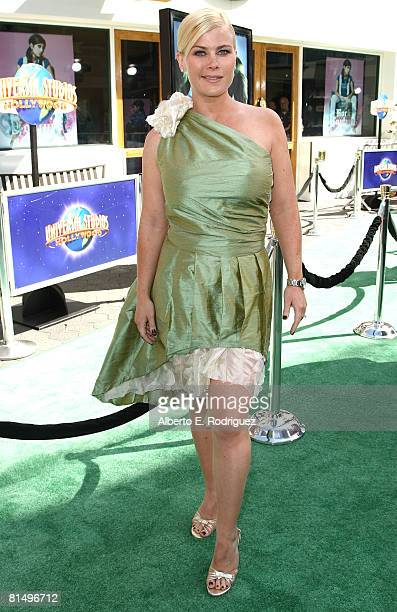 Actress Alison Sweeney arrives at the premiere of Universal Pictures' The Incredible Hulk held at the Universal City Walk on June 8 2008 in Universal...