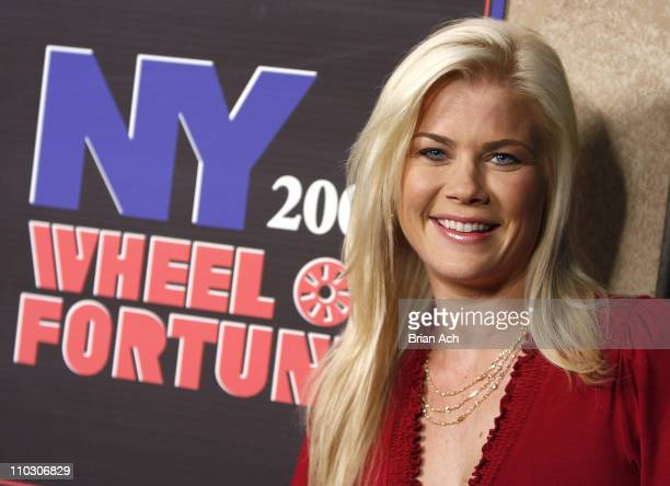 Actress Alison Sweeney at the taping of the 'Wheel of Fortune' 25th Anniversary People Magazine Celebrity Week on September 29 at Radio City Music...