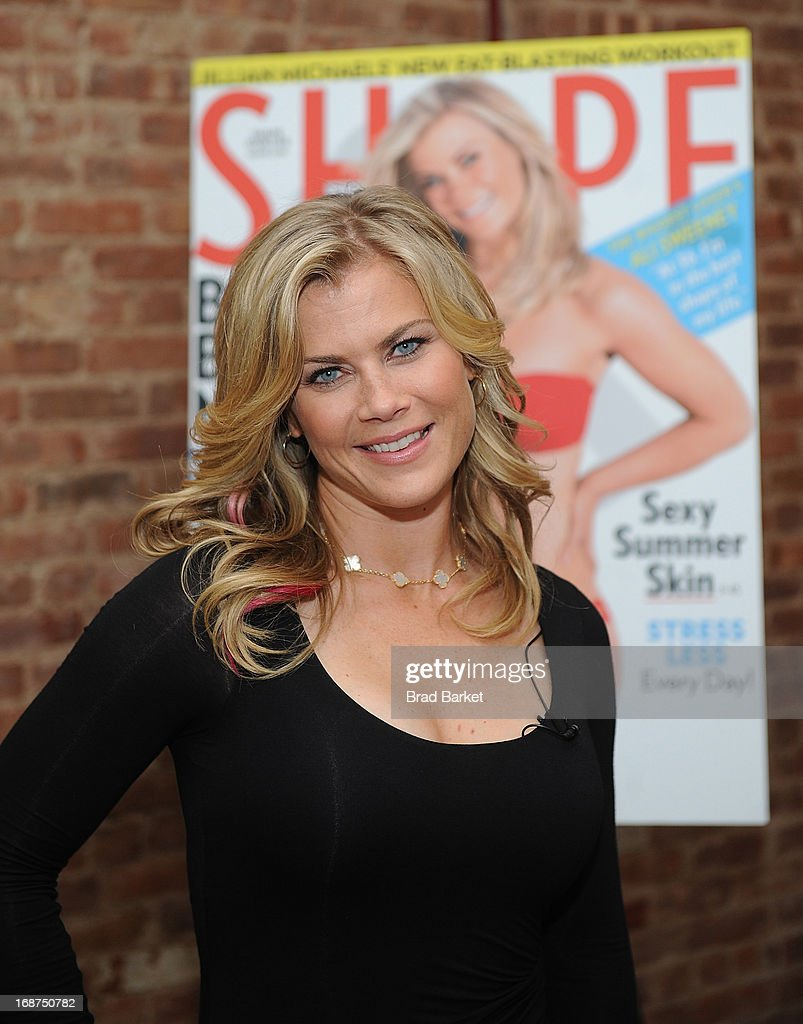 Alison Sweeney Nude ali sweeney's shape cover party photos and images   getty images