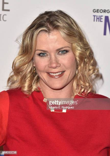 Actress Alison Sweeney attends the premiere of The New George Balanchine's The Nutcracker at The Dorothy Chandler Pavillion at the Music Center on...