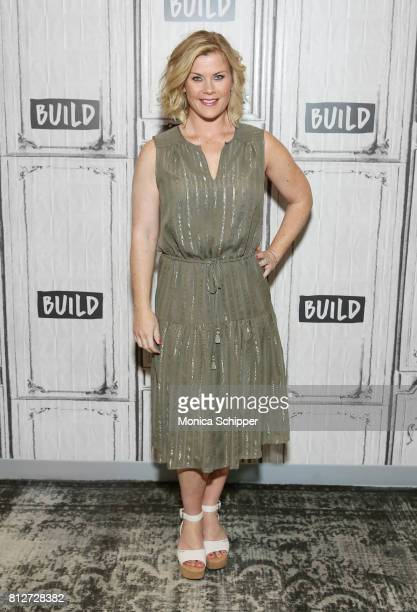 Actress Alison Sweeney discusses her upcoming projects at Build Studio on July 11 2017 in New York City
