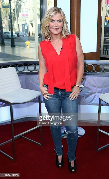 Actress Alison Sweeney visits Hollywood Today Live at W Hollywood on September 26 2016 in Hollywood California