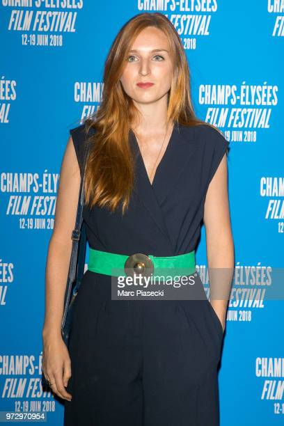 Actress Alison Wheeler attends the 7th Champs Elysees Film Festival at Cinema Gaumont Marignan on June 12 2018 in Paris France