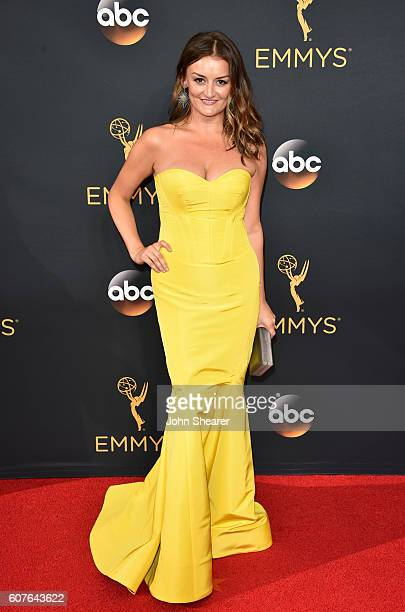 Actress Alison Wright arrives at the 68th Annual Primetime Emmy Awards at Microsoft Theater on September 18 2016 in Los Angeles California