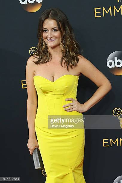Actress Alison Wright arrives at the 68th Annual Primetime Emmy Awards at the Microsoft Theater on September 18 2016 in Los Angeles California