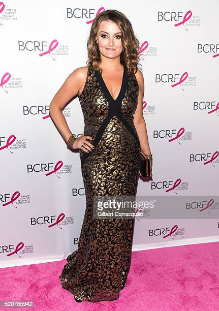 Actress Alison Wright attends the 2016 Breast Cancer Research Foundation Hot Pink Party at The Waldorf Astoria on April 12 2016 in New York City
