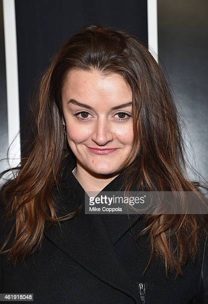 Actress Alison Wright attends the 'Black Sea' New York screening at Landmark Sunshine Cinema on January 21 2015 in New York City