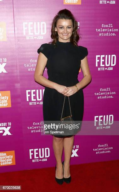 Actress Alison Wright attends the 'Feud Bette and Joan' NYC event at Alice Tully Hall at Lincoln Center on April 18 2017 in New York City